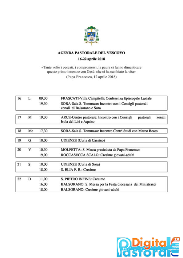 agenda-16-22-aprile-2018