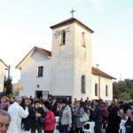 Festa nella chiesa della Madonna Delle Grazie ad Arpino